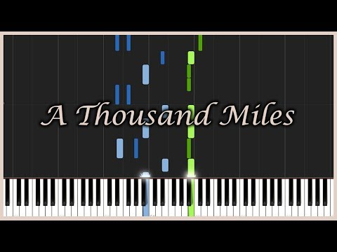 A Thousand Miles - Vanessa Carlton [Piano Tutorial] (Synthesia) // Mr.Meeseeks Piano