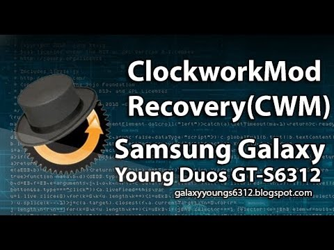 [ROOT] How to install ClockworkMod Recovery on Galaxy Young GT-S6312