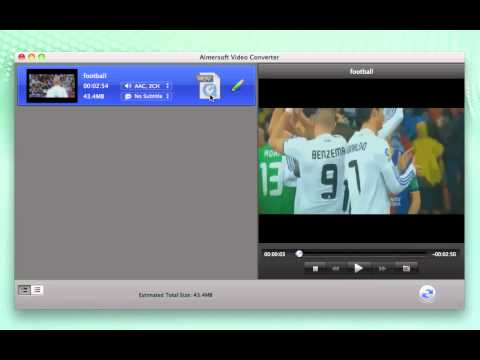 Two Popular Ways to Convert MOV to WMV on Mac OS X