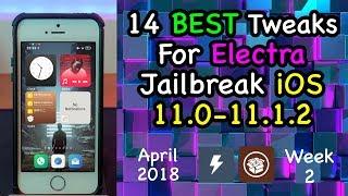 TOP 50 Jailbreak Tweaks! BEST Electra iOS 11-11 1 2 Tweaks