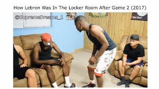 NBA FINALS 2017 ALL LOCKER ROOM VIDEOS LEBRON AND GOLDEN STATE! (FULL VERSION ORIGINAL CREATOR)