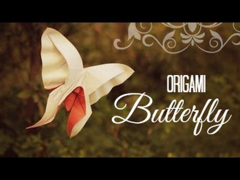 How to make an Origami Butterfly (Hoàng Tiến Quyết)