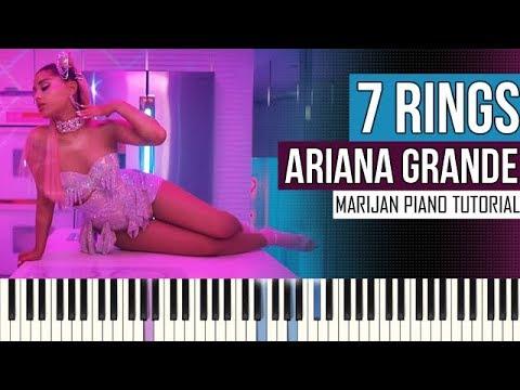 How To Play: Ariana Grande - 7 rings | Piano Tutorial + Sheets