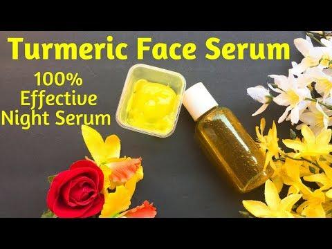 100% Effective Turmeric Night Serum / Skin Whitening Magical GLOW SERUM For Spotless Skin / AVNI