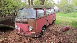 31 years in a field, vw bus, will it run?