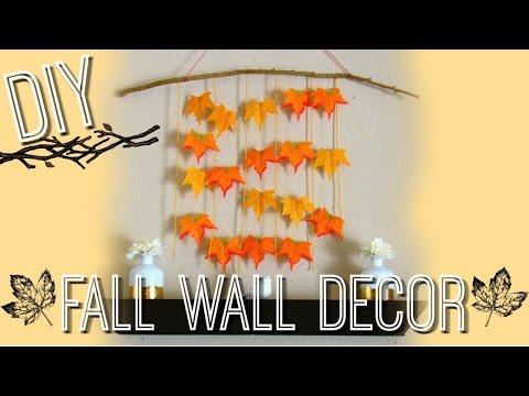 DIY FALL WALL DECOR