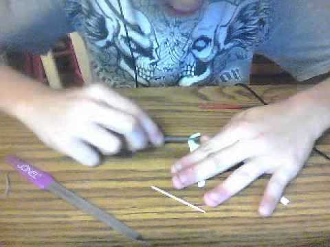 how to make a toy bow and arrow