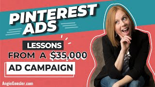 Download [PINTEREST PROMOTED PINS] Lessons from a $35,000 Pinterest Ad Campaign Video
