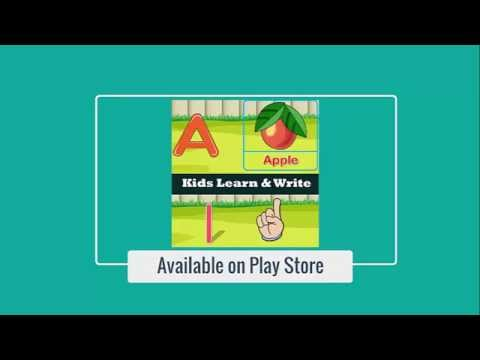 Kids ABCD Letters & Numbers Practice Learn to Write and Read on Android