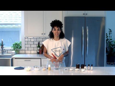 DIY All Natural Deodorant Vegan Friendly (Instagram @nikishariley)