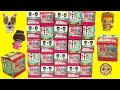 20 My Mini MixieQ's Surprise Blind Bag Box with 2 Mystery Dolls - Cookieswirlc Toy Video
