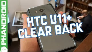 HTC U11 Plus leaks with clear back