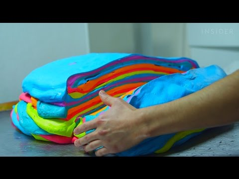How Rainbow Bagels Are Made