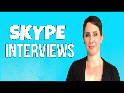 HOW TO: GO ON A SKYPE INTERVIEW | Debra Wheatman