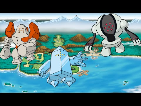 Pokemon Ranger - Vs Regirock/Regice/Registeel