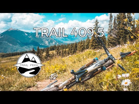 Well... that was SICK! - Trail 409.5 - Mountain Biking Crested Butte Colorado