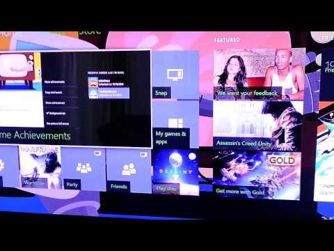 New 2014 Xbox One customized Dashboard background!