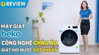 Máy giặt Beko Inverter: diệt khuẩn sạch sẽ, điều khiển bằng điện thoại (WCV8649XWST) • Điện máy XANH