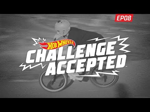 12 Second Lap Around The Pump Track - Hot Wheels Challenge Accepted