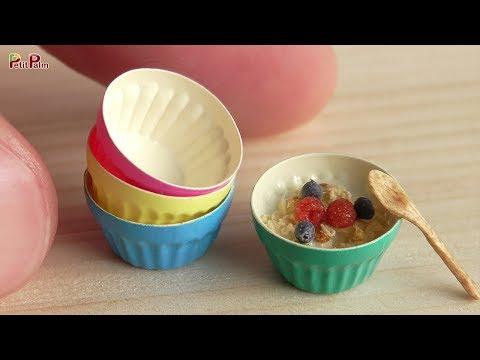 DIY Miniature Granola   Petit Palm