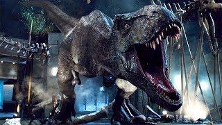 T-Rex vs Indominus Rex - Final Battle Scene - Jurassic World (2015) Movie Clip HD