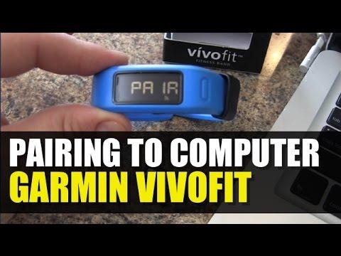 Garmin Vivofit - How to Pair to Computer