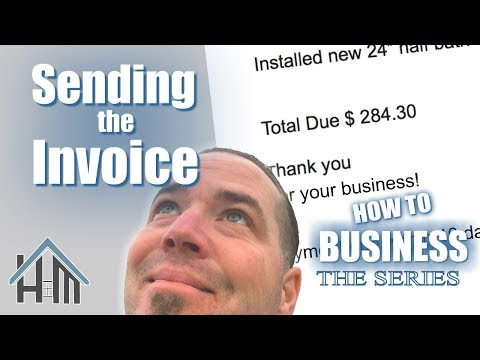 How to send invoice, Invoice customers, bill clients. Easy!