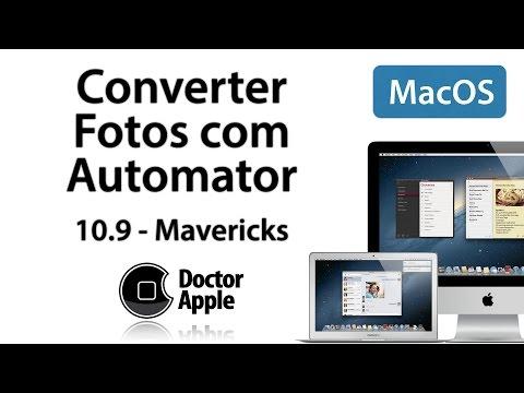 Aula Apple Mac - Converter Fotos - Automator