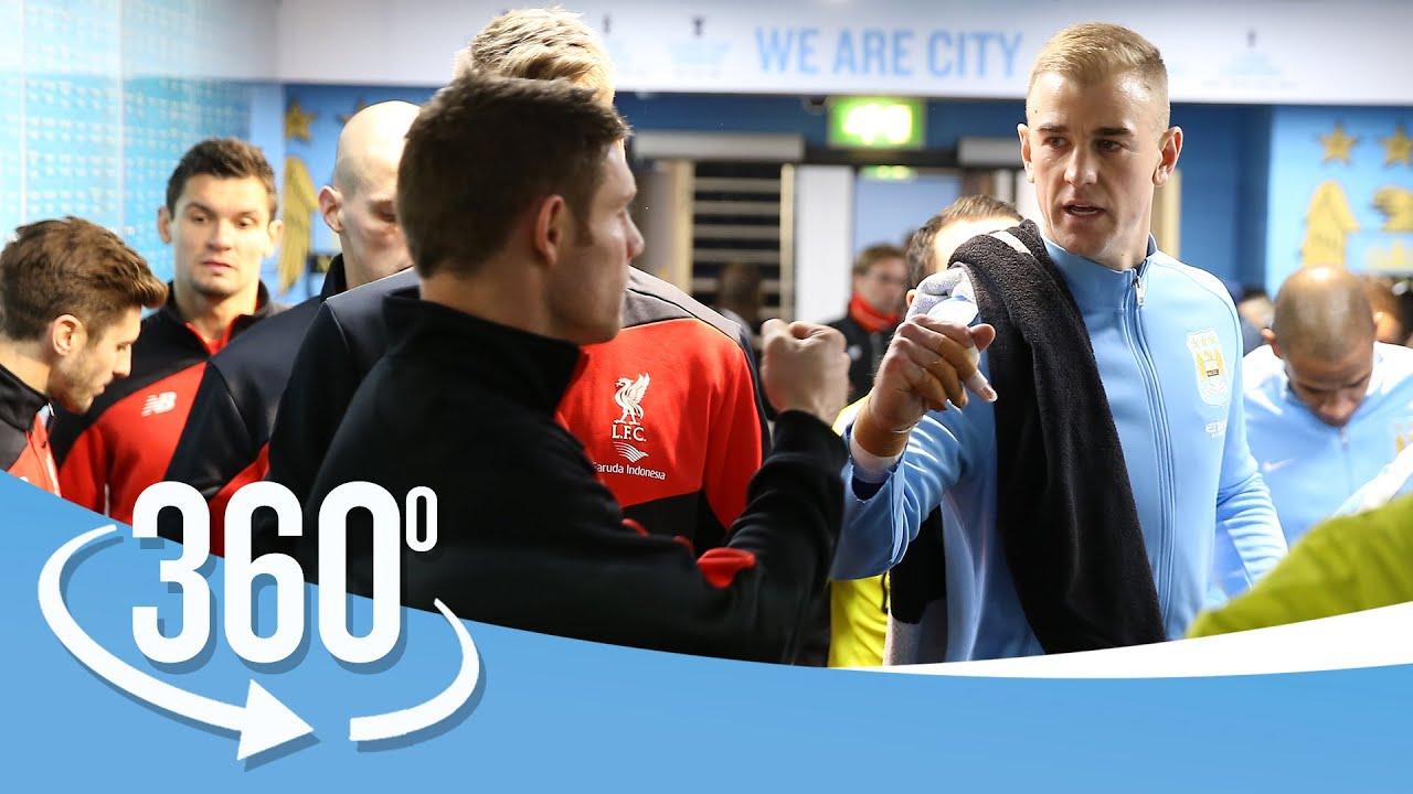 360° TUNNEL CAM | City 1-4 Liverpool