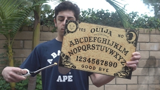 NEVER MESSING WITH THE OUIJA BOARD AGAIN!! (WTF WAS THAT)