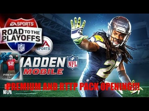 Madden Mobile-premium/road to the playoffs pack opening