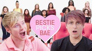 Colby Lets Sam Pick His Girlfriend: Sam & Colby | Bestie Picks Bae