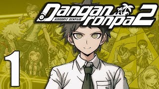 Danganronpa 2 [BLIND] Let's Play - Part 4 - Chapter 1 Class
