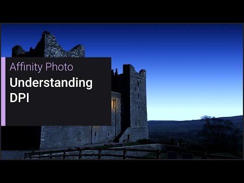 Understanding DPI (Affinity Photo)