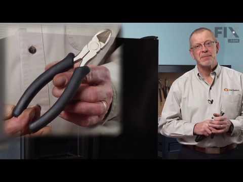 Amana Refrigerator Repair – How to replace the Defrost Bimetal