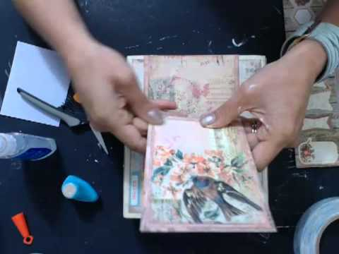 Prima Cigar Box and Mini Album Ustream class