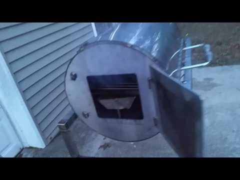 STAINLESS REVERSE FLOW OFFSET SMOKER BUILD