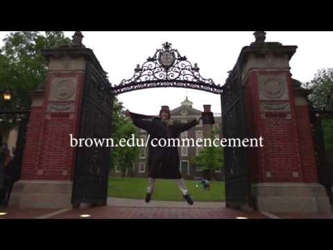 Get Ready! Brown Commencement 2018
