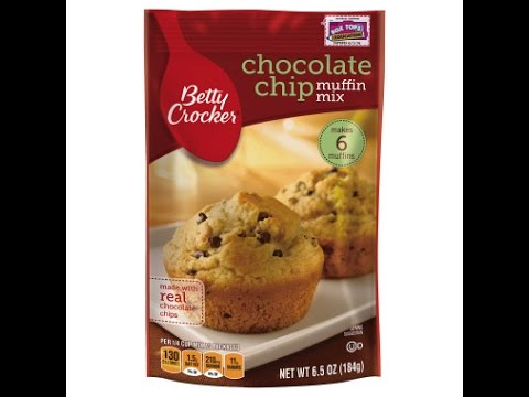 Como preparar Muffin Mix de Betty Crocker