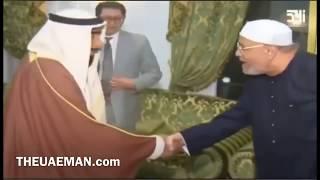 لقاء الشيخ زايد مع الشيخ متولي الشعراوي رحمهم الله