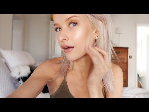 MY NON COVERAGE MINIMAL MAKEUP LOOK I'VE BEEN LOVING   Vlog 90