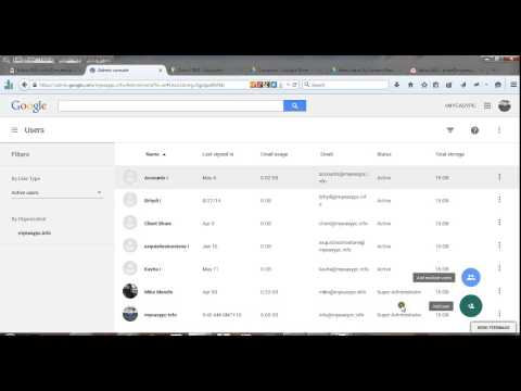 Managing Google Apps Users