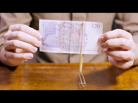 How to master the rubber band paperclip trick | Pub Tricks