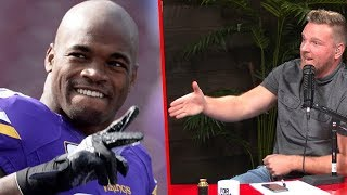 Pat McAfee's HILARIOUS Adrian Peterson Story