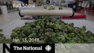The National for January 15, 2018 - Bystander Dead, Marijuana, North Korea Summit