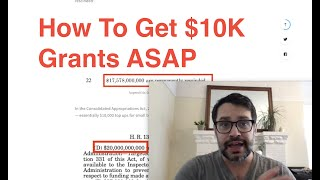 How to Get $10,000 Grants ASAP   3+ Million Are STILL AVAILABLE