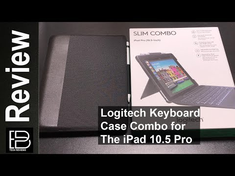 Logitech Slim Combo Keyboard Case for the iPad Pro 10.5