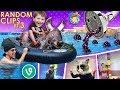 WATER BULL RIDING 🎵 FUNnel VINES/Vlogs (FV Family Random Clips #4)