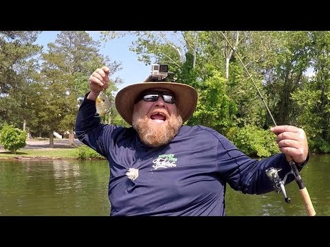 Bluegill and Shellcracker Fishing With My Favorite Style Of Jig!