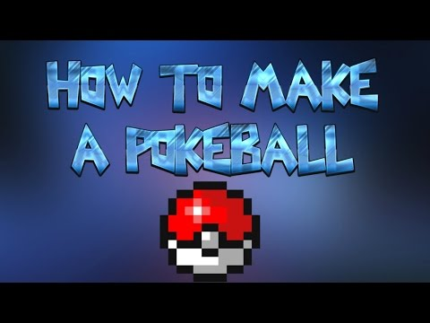 HOW TO MAKE A POKEBALL | MINECRAFT TUTORIAL